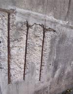 コンクリートが早期に劣化